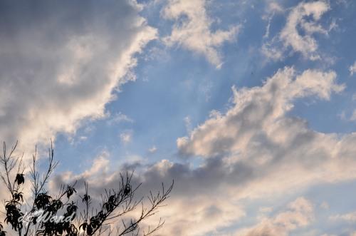Eveng clouds